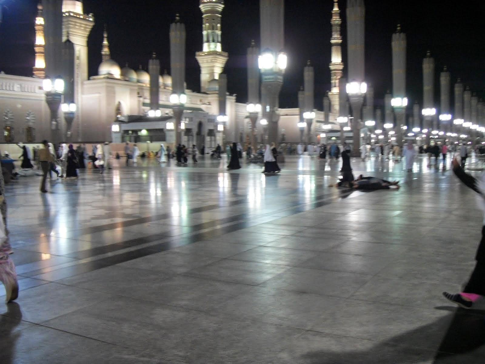 Masjid Nabawi - Malam
