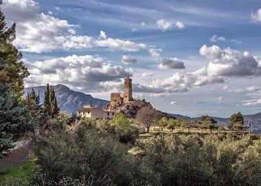 El Castell de Penella, Cocentaina. Fotografia de Pere Espinosa