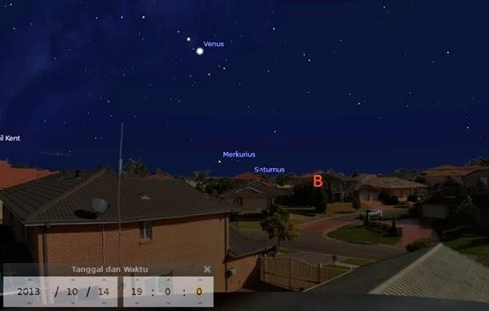 Venus di Sore, Mars dan Komet ISON di Langit Pagi