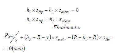 Ejercicio resuelto de estatica de fluidos formula 1 problema 3