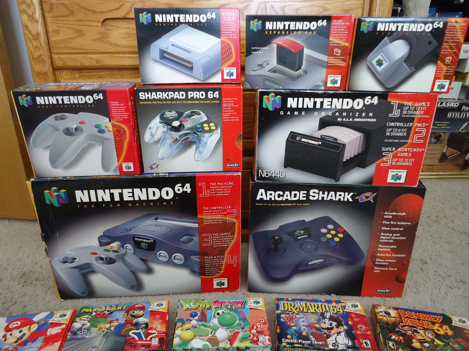 WatchmeplayNintendo: My Nintendo 64 Collection