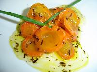 zanahorias al glasé, recetas de cocina, recetario