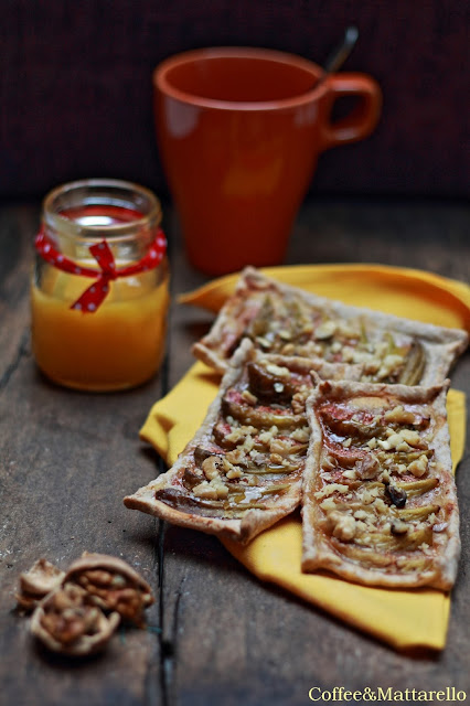 sfoglie integrali con fichi, noci e miele - [stagioniamo!]