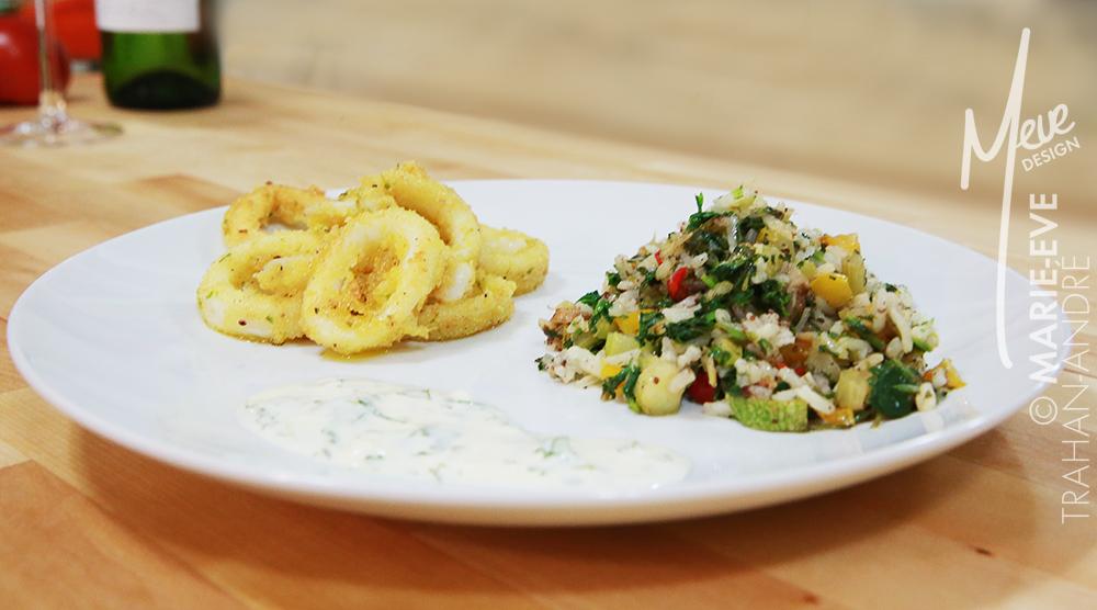 Cuisine sans gluten recette sans gluten calmar frit et for Ares cuisine laval