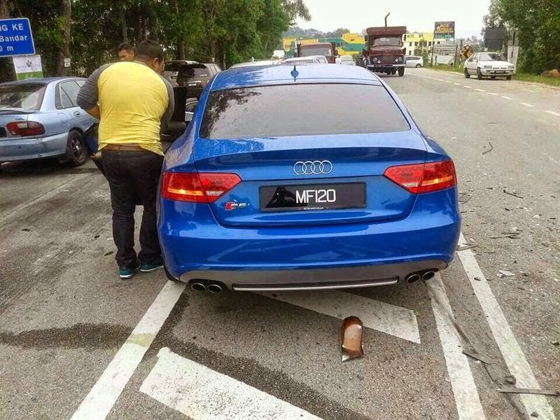 Peminat Dakwa Kereta Audi Fizo Omar Sering Dipandu Laju?