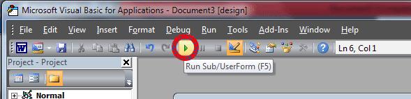 Cara Menambahkan Check Box Menggunakan ActiveX Control Pada Word
