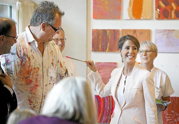 Princess Marie became a patron of the Danish Epilepsy Association since November 2013