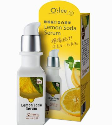 O'slee Lemon Soda Whitening Serum, skincare, whitening, lemon , skincare, serum