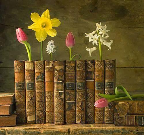 Livros são flores
