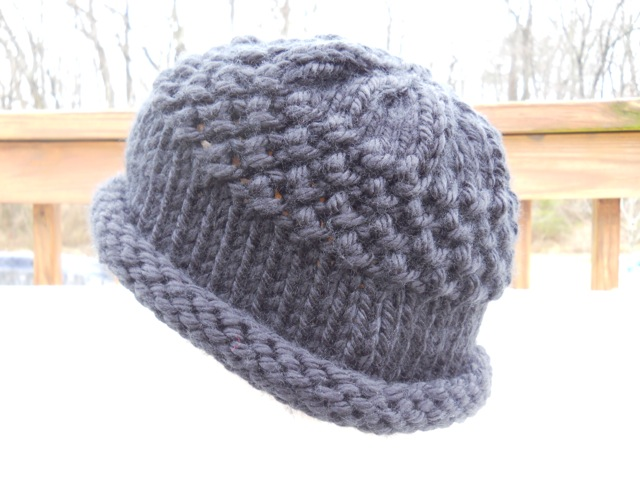 Free Knitting Pattern Hat With Bulky Yarn : Knitting with Schnapps: Introducing Jurisprudence!