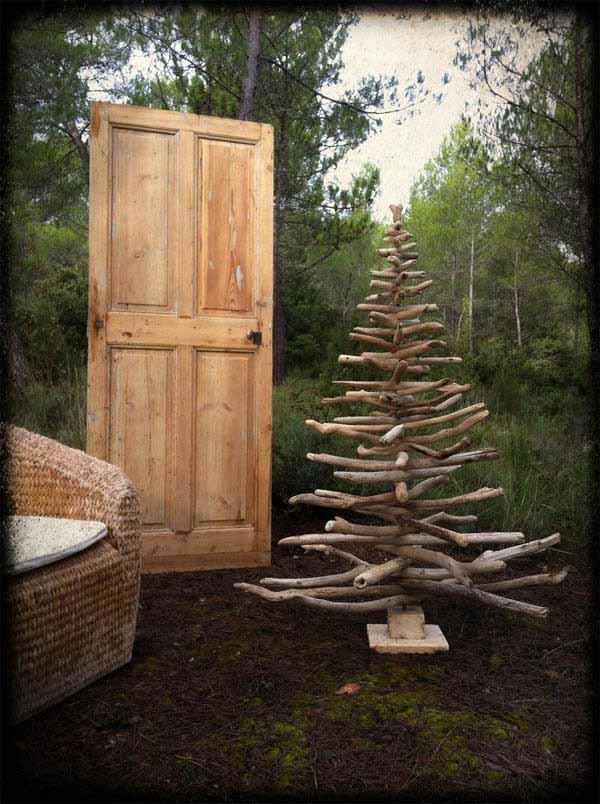 Decoracion Rustica De Navidad ~   para mostr?roslas Pertenecen a  Atelier bois d  ame  un gr