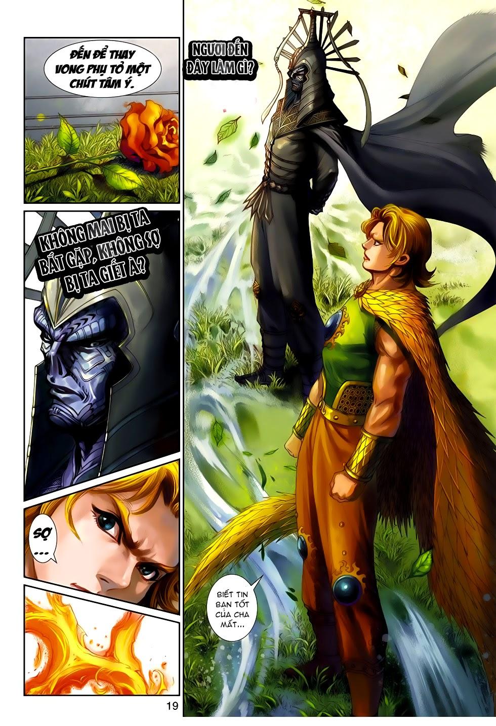 Thần Binh Tiền Truyện 4 - Huyền Thiên Tà Đế chap 14 - Trang 19