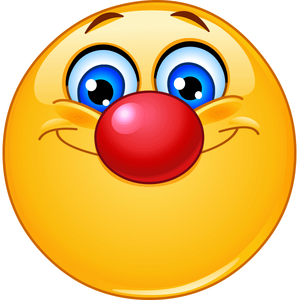 Red-Nose Smiley