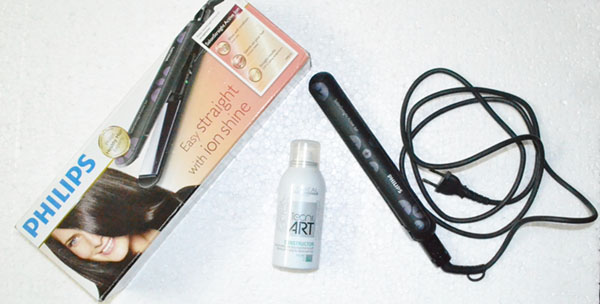 Philips Salon straight active ion (Model no. HP8310) Hair straightener