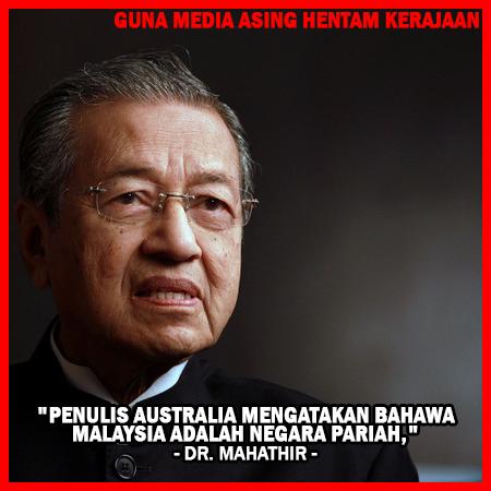 Media Asing Mempunyai Agenda Sendiri - Tun Mahathir #KekalNajib