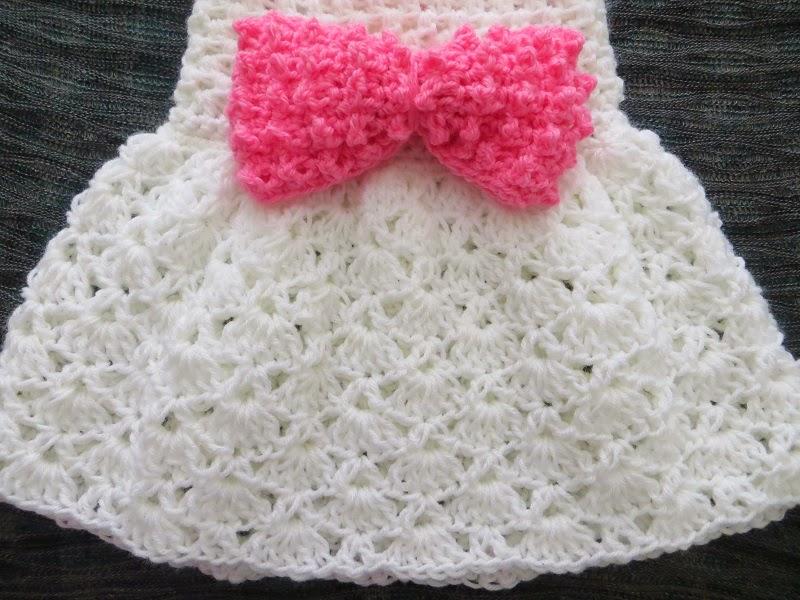 Baby Sun Dress Pattern To Crochet : The Little Bow Peep Dress, Crochet Baby Dress Pattern ...