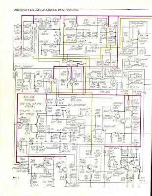 Схема самодельного синтезатора