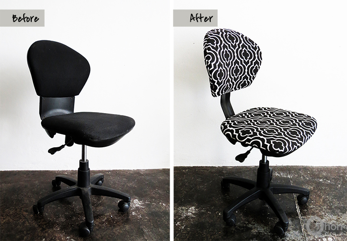 The office chair makeover Ohoh Blog