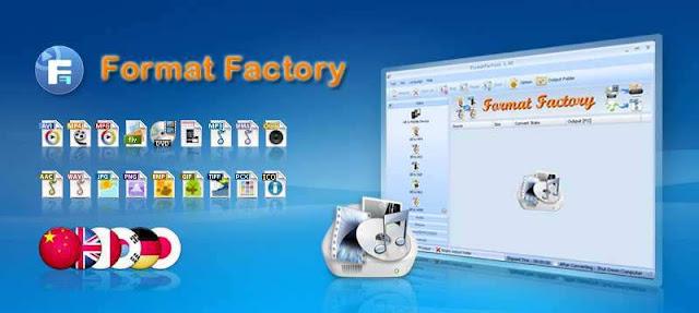 Download Format Factory terbaru versi 3.7.5.0 Untuk PC