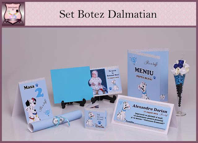 set marturii botez dalmatian