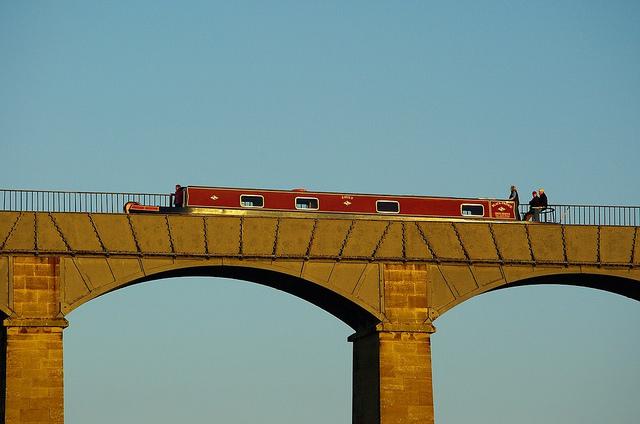 O incrível Aqueduto Pontcysyllte