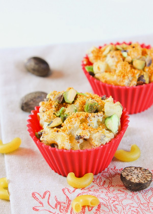 Cauliflower and Mac and Cheese Muffins