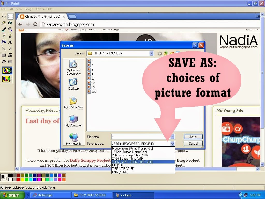 Tutorial PC Print Screen gune Paint