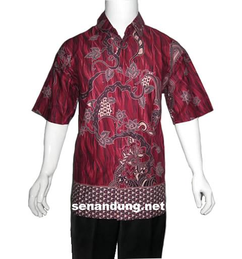 baju batik pria pekalongan