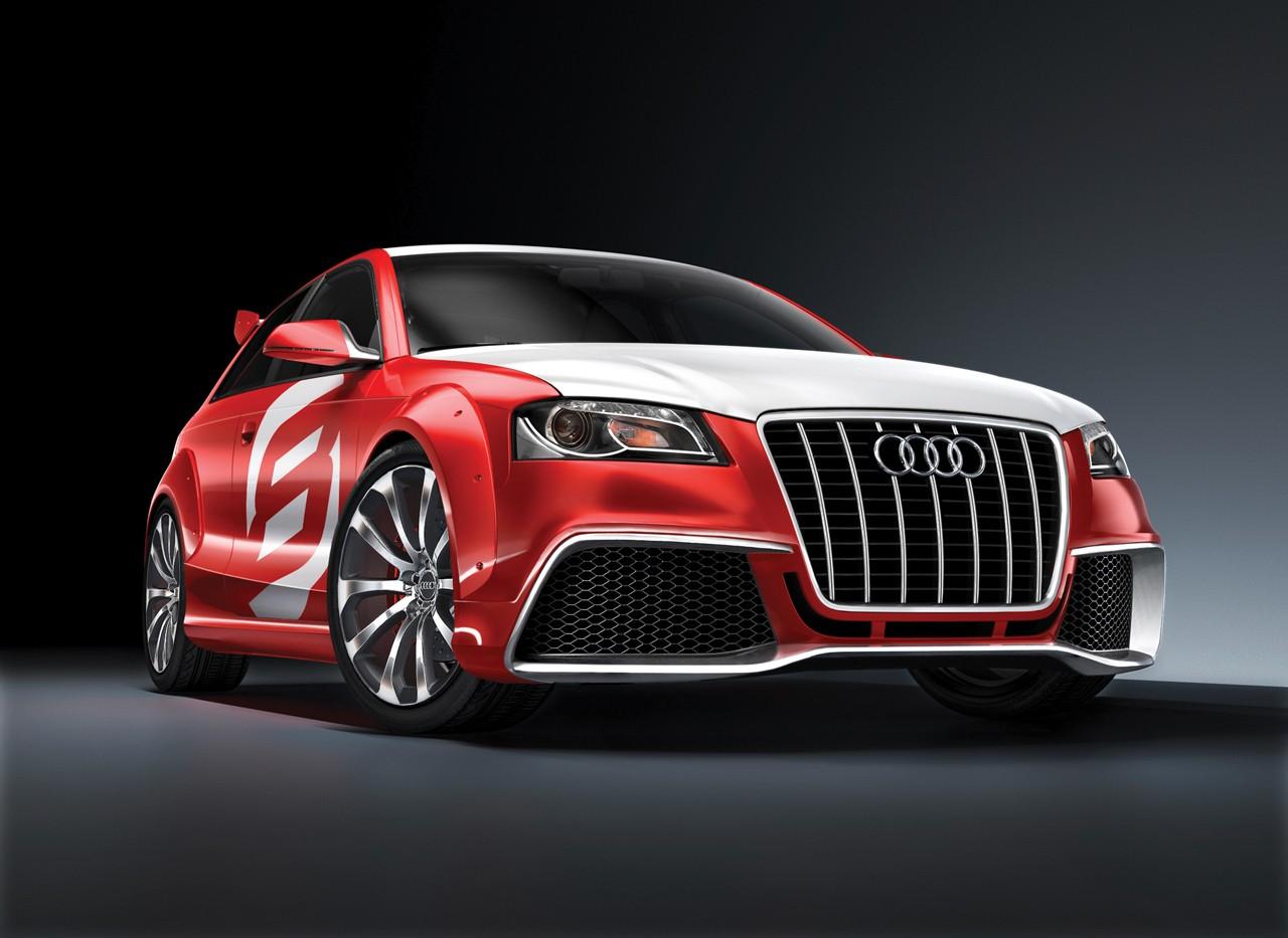 Audi A3 TDI Clubsport Quattro Concept Nice view