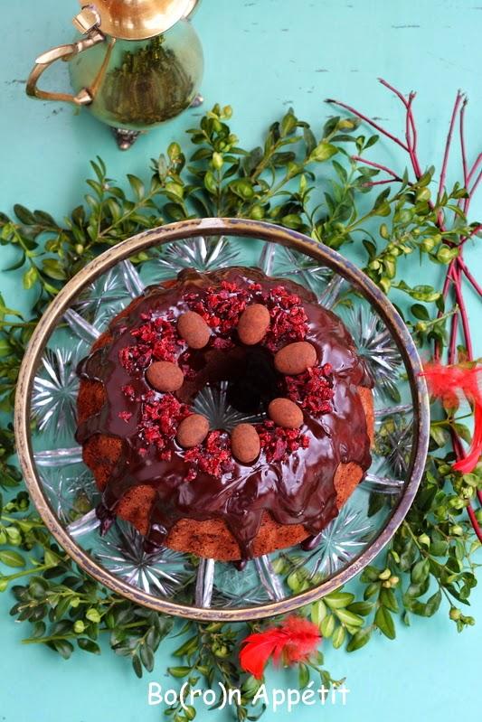 Babka kakaowa z wiśniami
