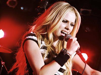 Avril Lavigne Pop Singer