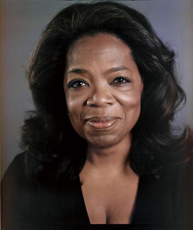 Oprah Winfrey sin maquillaje
