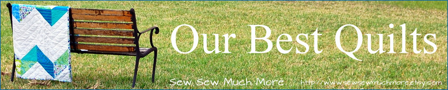 Sew Sew Much More Quilts, Camera Strap Covers, Crayon Holders, and More