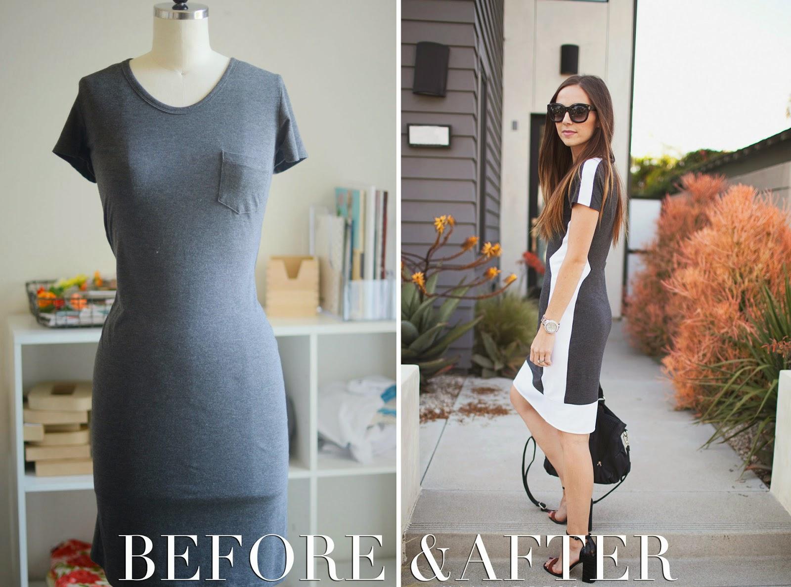 Как переделать длинное платье в короткое своими руками