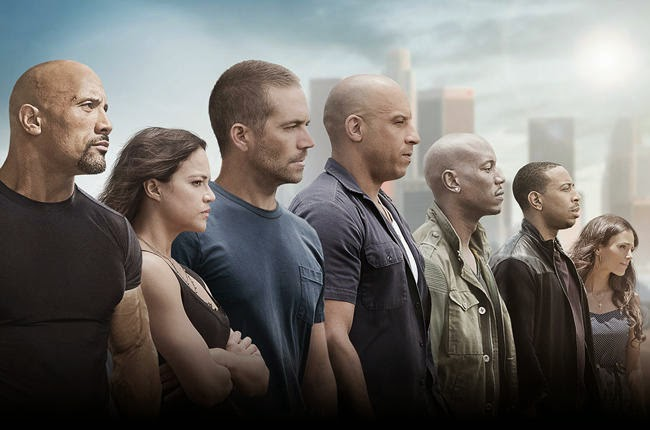 List lagu soundtrack film Fast and Furious 7