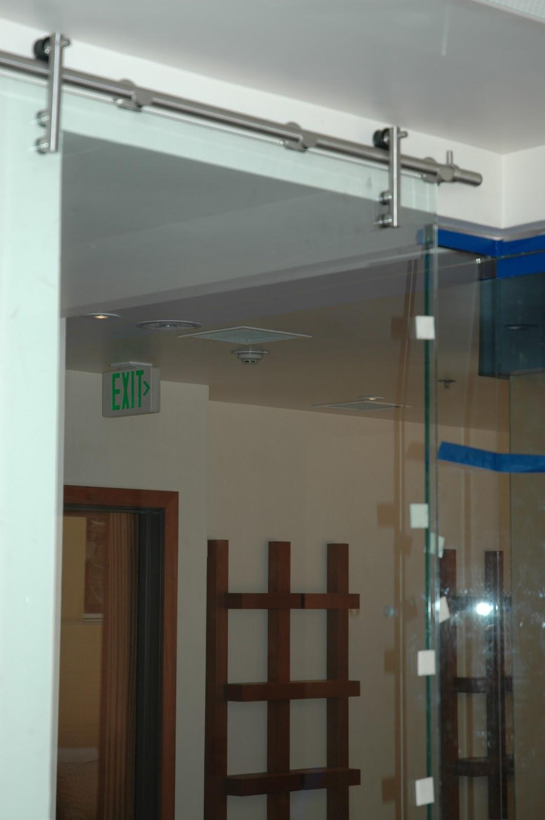 Top Hung All Glass Door System Ot Glass