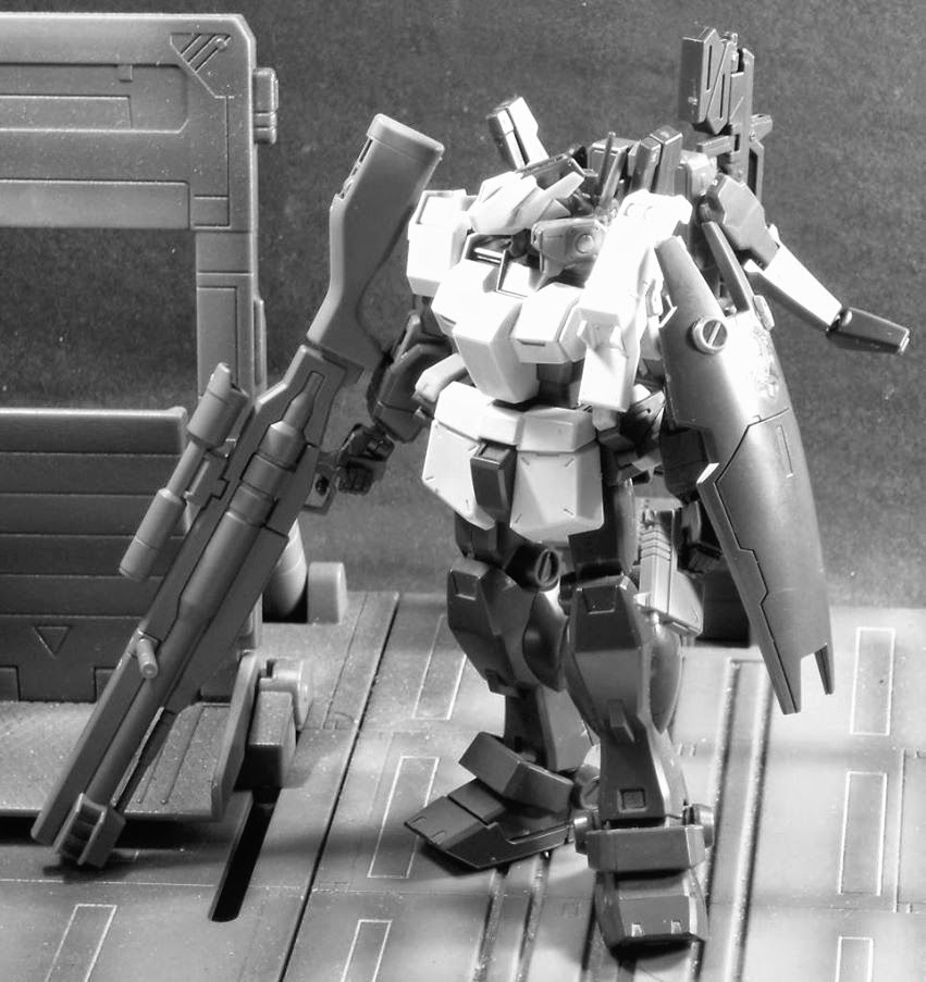 HGUC 1/144 Gundam GM Quel and Hazel kitbash, with HGBF Sniper parts