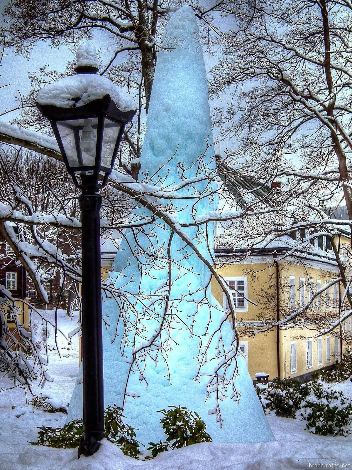 Zamrzlý pramen - Karlova Studánka