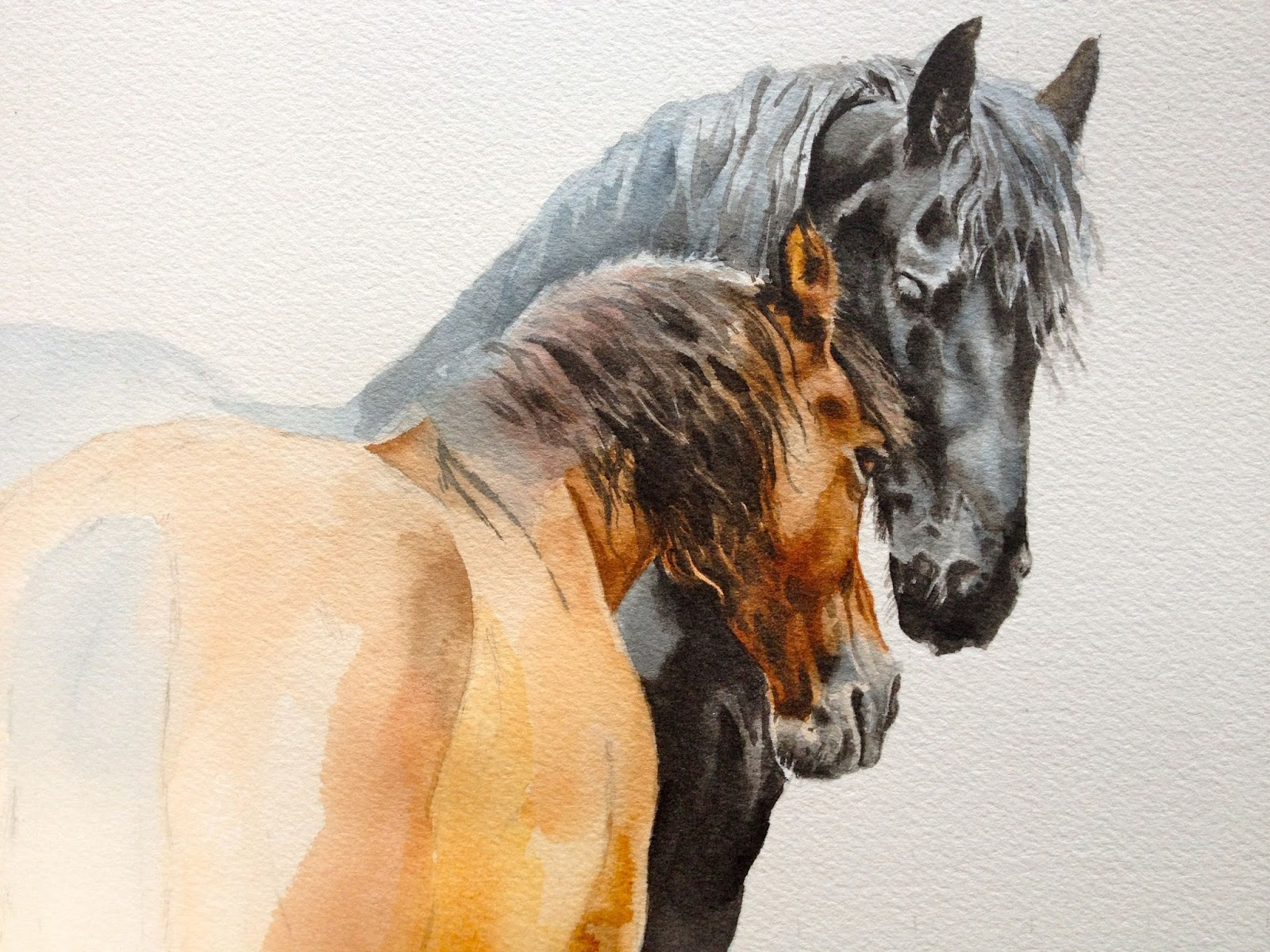Amazing   Wallpaper Horse Watercolor - IMG_2899  Perfect Image Reference_236013.jpg