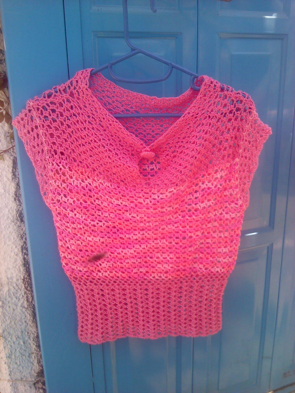 Kangél tejiendo con armonía : Blusas en rosa......