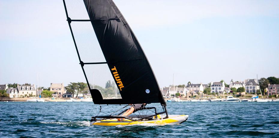 Futurix tiwal la prima barca a vela gonfiabile for Parti di una barca a vela
