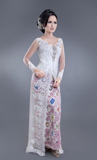 Model Gaun Kebaya Pesta Modern