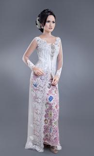 Model Gaun Kebaya Pesta Modern