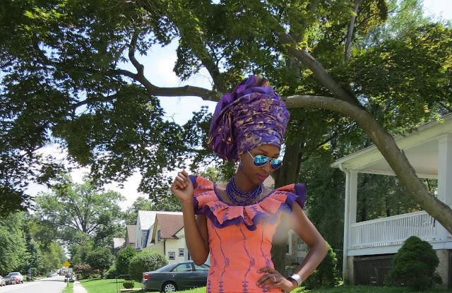 Nigerian Lace Style, Gele
