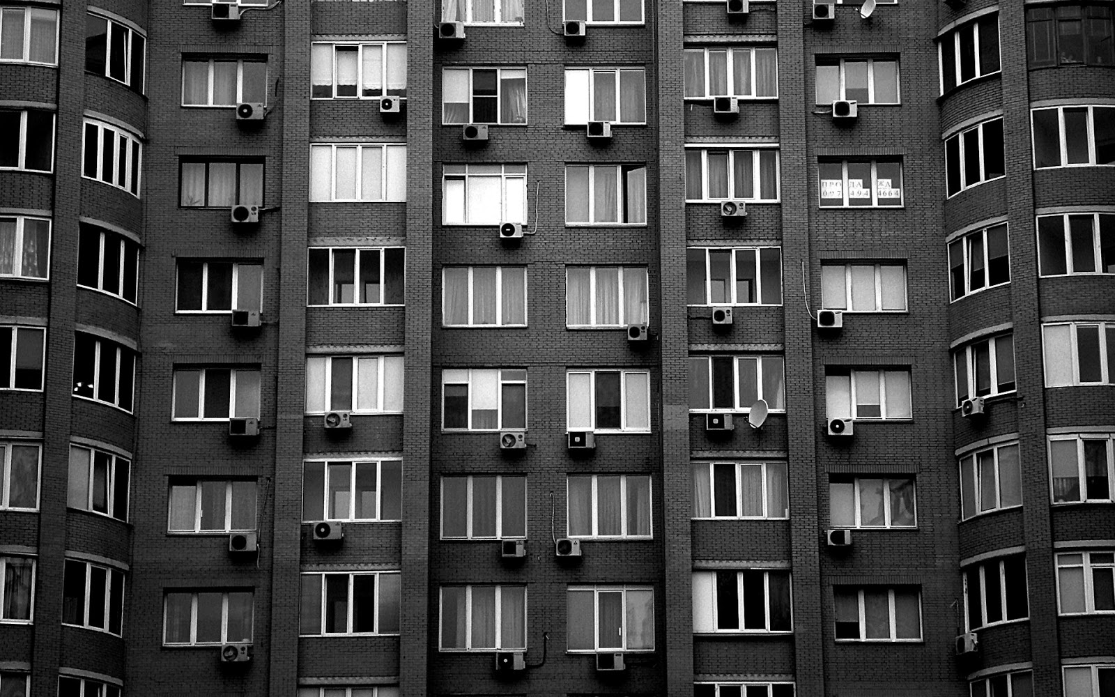 apartment building wallpapers: Apartment Building Wall