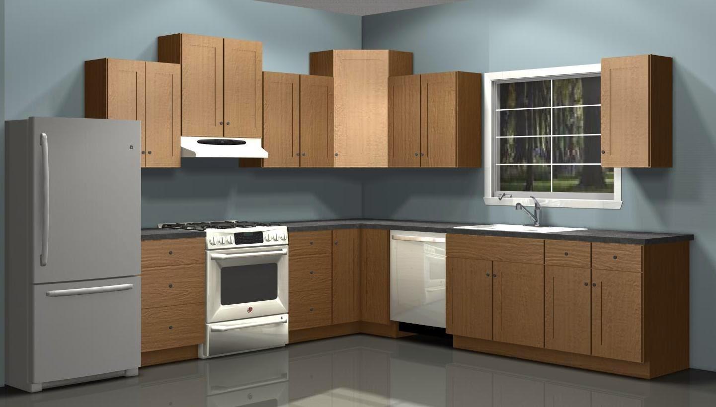 Model Lemari Gantung pada sebuah dapur minimalis | sumber : google.com