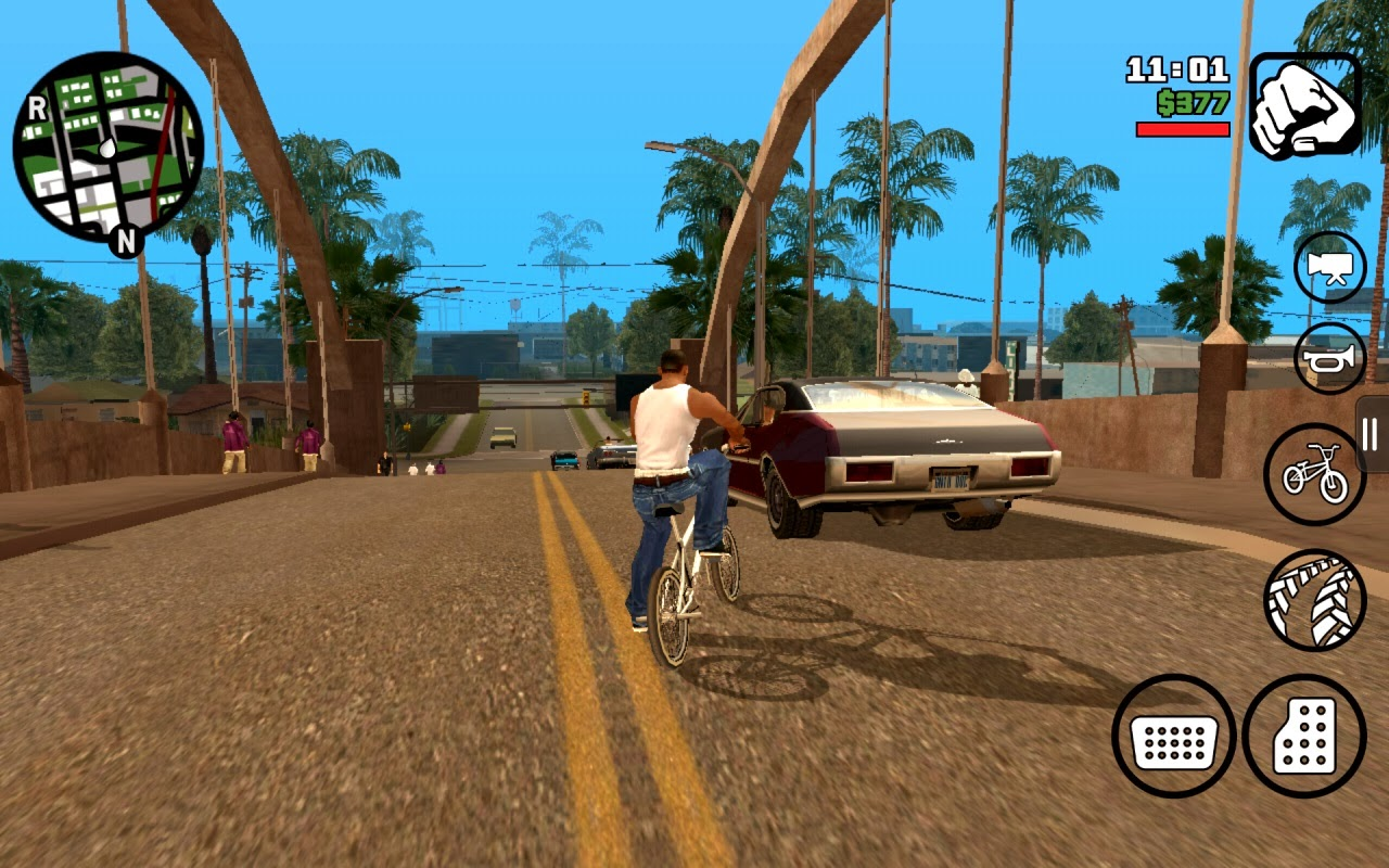grand theft auto san andreas android review