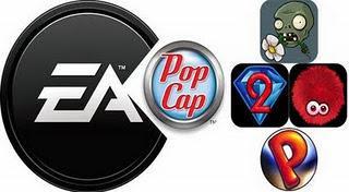 Elektronik Arts (EA) membeli PopCap Games