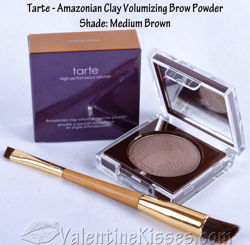 Valentine Kisses Tarte Amazonian Clay Volumizing Brow Powder In