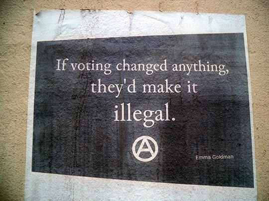 voting, UK, illegal, urban, photography, art